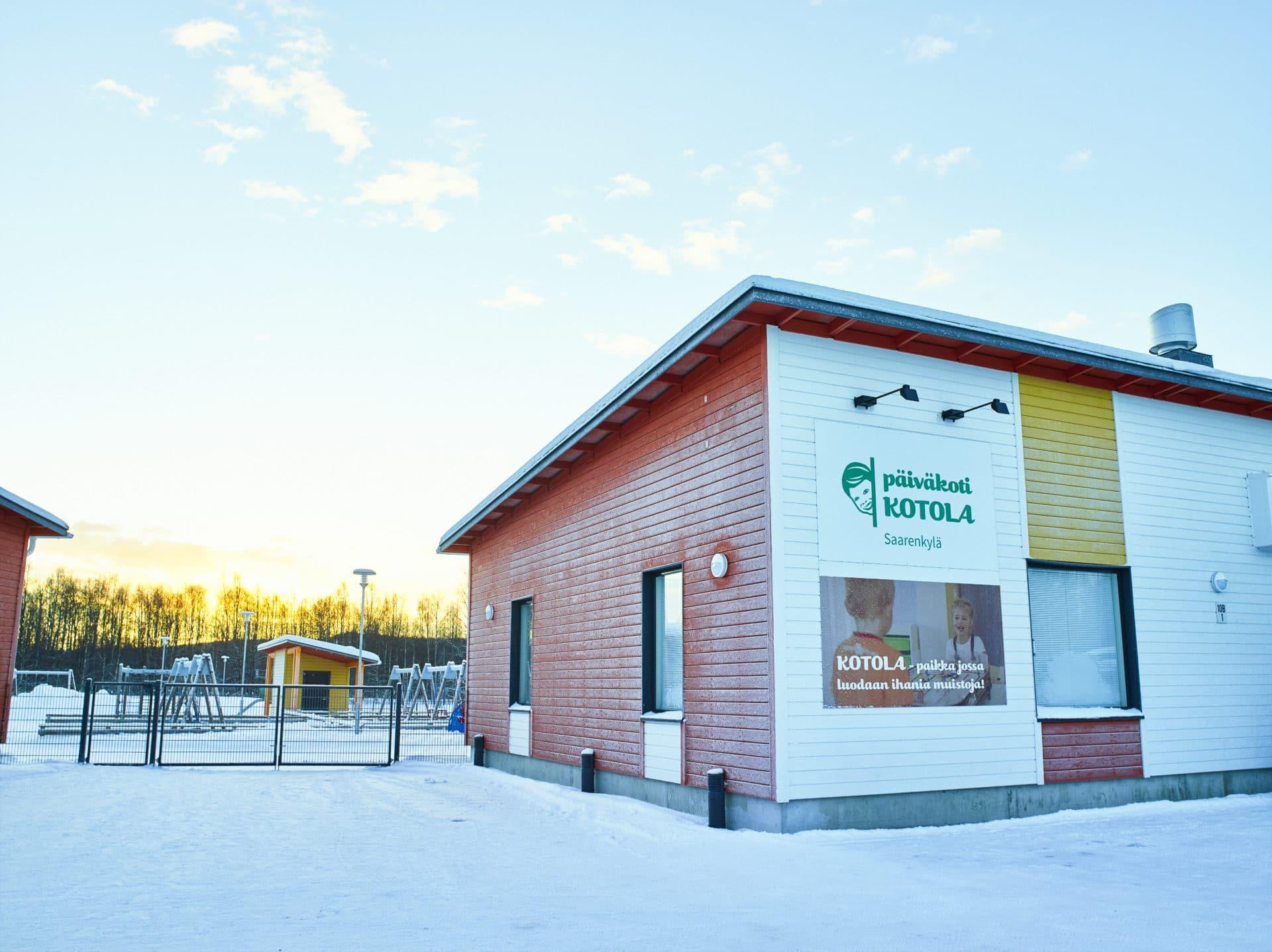 Hoivatilat päiväkoti Rovaniemi
