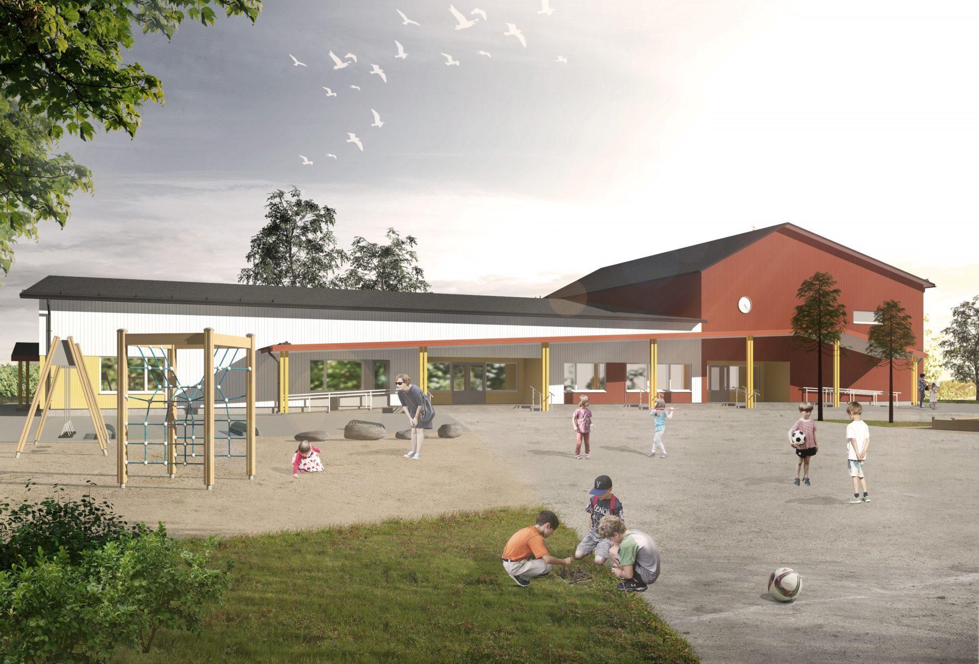 Hoivatilat Siilinjärvi koulu